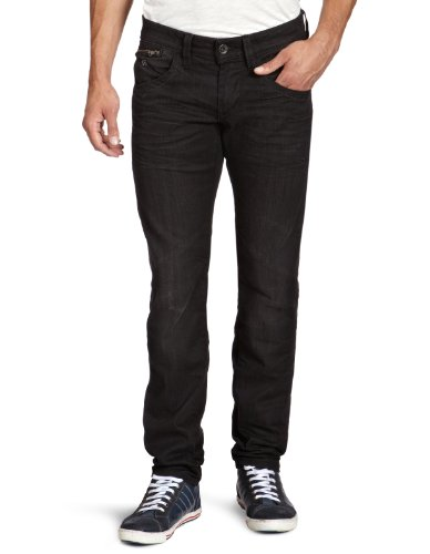 Energie Men's 9I7S00-Dl9852-L00R70/Raph Trousers 32 Straight Leg Jeans Black (L00R70) 36/32