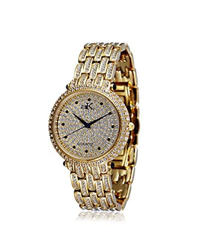 Adee Kaye Women's AK9-67LG Prima Donna Collection Crystal & Brass Watch