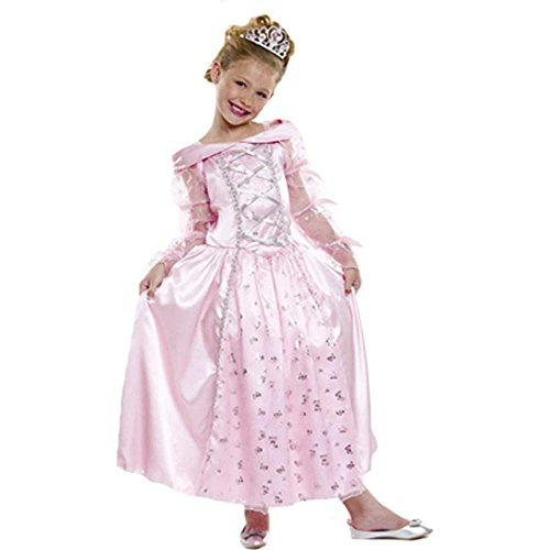 Elegant Pink Princess Kids Costume