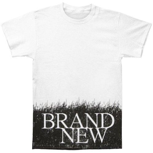 Brand New Men'S Grass T-Shirt X-Large White