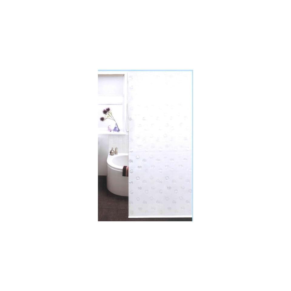 duschrollo als duschvorhang 100 peva 140cm breit x 240 cm lang wei on popscreen. Black Bedroom Furniture Sets. Home Design Ideas