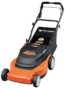 Black & Decker CMM1000 19-Inch 5 HP Cordless Mulching Mower with Rear Bag (Discontinued by Manufacturer)