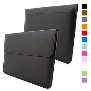 Snugg - Funda Para MacBook Pro 15 - Estuche De Cuero Con Una Garantía De Por Vida (Negro) Para Apple MacBook Pro 15
