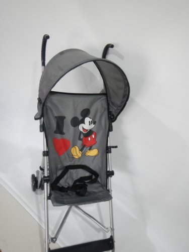 Best Price Disney Umbrella Stroller with Canopy, I Heart Mickey