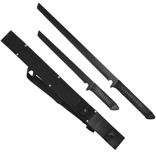 Trademark Twin Ninja Set - Two Swords - One Sheath
