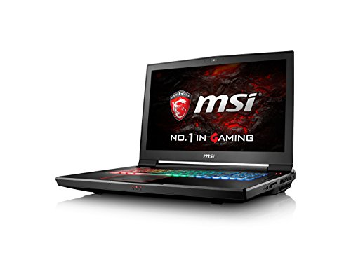 "MSI GT73VR 6RF ""Titan"" 035UK 17.3-Inch FHD Gaming Notebook (Black) - (Intel i7 6820HK, 32 GB RAM, 512 GB SSD, 1 TB HDD, GTX 1080 Graphics Card, Windows 10)"