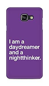 AMEZ daydreamer and night thinker Back Cover For Samsung Galaxy A5 (2016 EDITION)