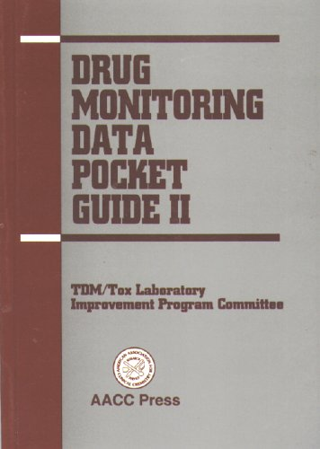 Drug Monitoring Data Pocket Guide II
