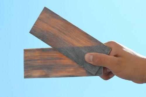 4 Pcs Natural Horn Blank Flat Blade Plate 153Mm X 57Mm X 3Mm