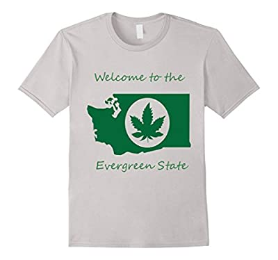 Welcome to the Evergreen State Cannabis T-Shirt