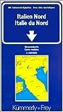 echange, troc Cartes Kümmerly + Frey - Carte routière et touristique : Italie du Nord