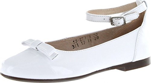 Venettini Girls Eliza Dress Flats With Ankle Strap