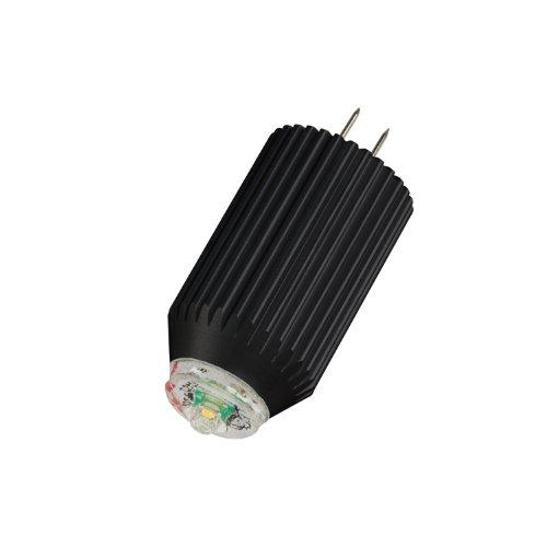 Kichler Lighting 18042 Energy Efficient 2W 12V 2700K 300-Degree Omni Directional G4/T3 Bi-Pin Led Bulb, Warm White, 6-Pack