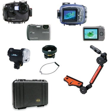 Sea and Sea DX-GE5YS-02 Underwater Digital Camera Islander Kit