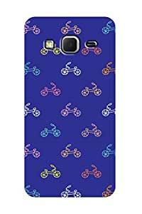 ZAPCASE PRINTED BACK COVER FOR SAMSUNG CORE PRIME