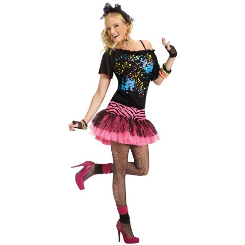 80s Pop Party Womens Costume, Small, Medium or Large