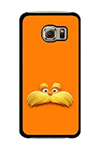 Caseque The Lorax Back Shell Case Cover for Samsung Galaxy S6 Edge