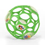 SAVE $3.97 - Rhino Toys Oball Rattle (Colors May Vary) $8.02