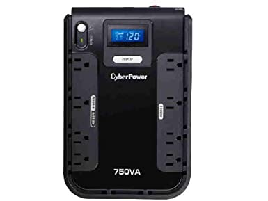 CyberPower CP1500AVRLCD Intelligent LCD UPS 1500VA 900W AVR Mini-Tower $71.66