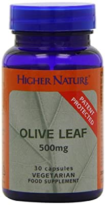 Higher Nature Olive Leaf Extract 500mg Pack of 30 by Higher Nature