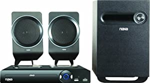 NAXA Electronics ND-854 2.1 Channel DVD Home Theater System with Progressive Scan DVD Player