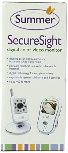 summer infant secure sight digital color video baby monitor discontinued by. Black Bedroom Furniture Sets. Home Design Ideas