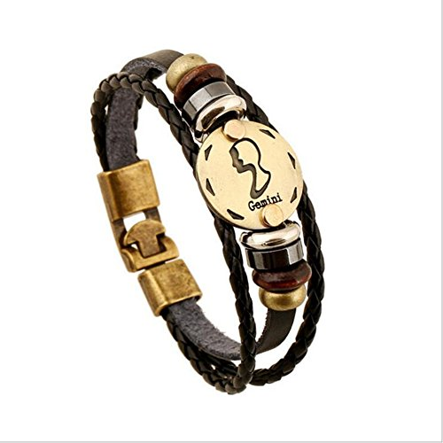 bronze-alloy-buckle-bracelet-12-constellation-gemini