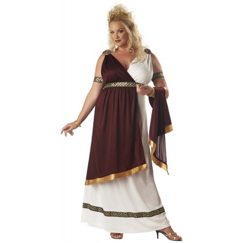 Roman Empress Costume - XX-Large - Dress Size 14-16