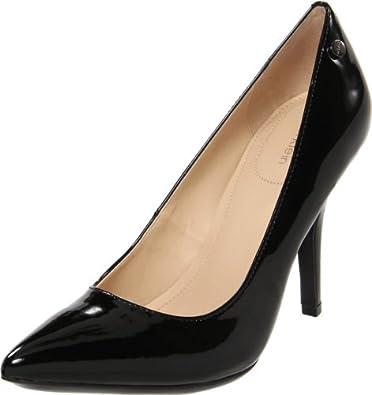 Calvin Klein Women's Natalie Patent Pump,Black,5 M US