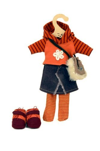 My Doll outfit for 32 cms. Doll with hooded cardigan
