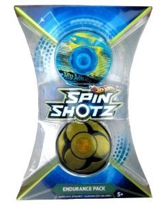 Hot Wheels--Spin Shotz Endurance Pack (Y1633) - 1