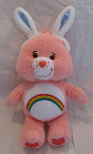 Cheer Bear Care Bear with Easter Bunny Rabbit Ears - 1