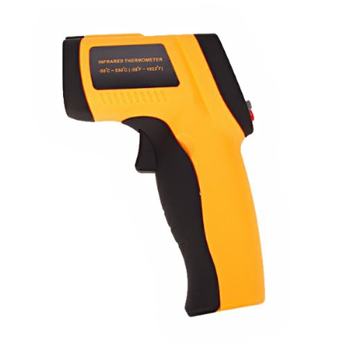 Foxnovo Gm550 Mini Gun Shaped Non-Contact Digital Infrared Thermometer Ir Temperature Meter front-73074