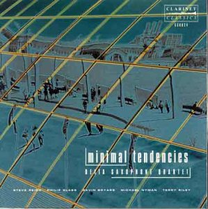Minimalist Tendencies - Delta Saxophone Quartet