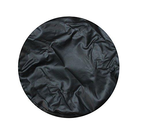 Leadrise®completely Black 14 Inch Wheel Spare Tire Cover Diameter 65cm (Trailer Spare Tire Protector compare prices)