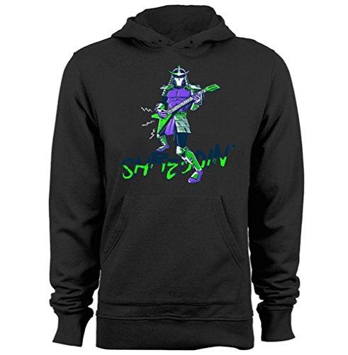 Shreddin On Guitar Shredder Teenage Mutant Ninja Turtles graphic hoodies