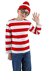 Where's Waldo Costume Set - Child Large/X-Large (Large/X-Large)