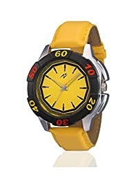 Yepme Eyon Mens Watch - Yellow -- YPMWATCH1835