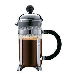 Bodum Chambord 3 cup French Press Coffee Maker, 12 oz., Chrome from Bodum