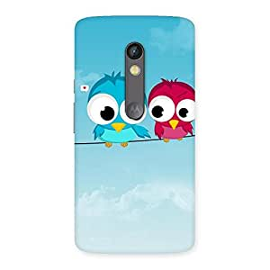 Birds on Wire Back Case Cover for Moto X Play