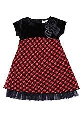 Soul Fairy Girls' Dress (CHRDRSVLV21A_Black Rust_9-10 Years)