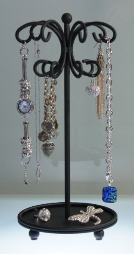 Necklace Holder Organizer Display Stand Storage Bracelet Rack - Angelynn