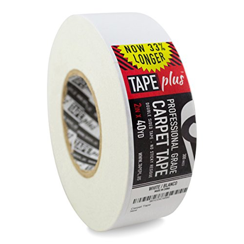 tapeplus-2-inch-by-40-yards-double-sided-non-slip-adhesive-carpet-tape-white