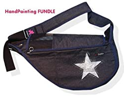 Fundle Ultimate Pet Sling Denim Series: Super Nova Size:Standard