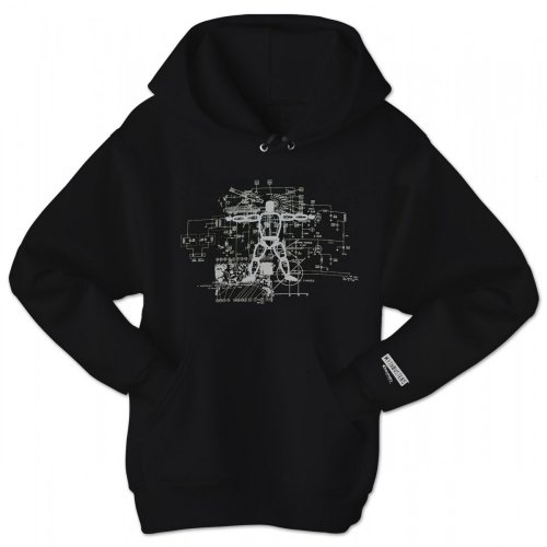 Fashion hoodies mythbusters buster blueprint hoodie black xxl malvernweather Gallery