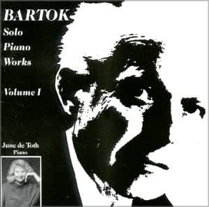 Vol. 1-Bartok Solo Piano Works