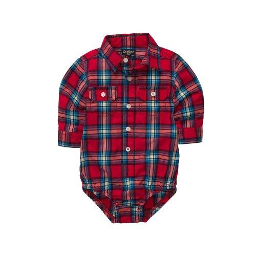 oshkosh-bgosh-hemdbody-gr-80-oberhemd-kariert-baby-junge-boy-us-size-18-month