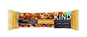 KIND Nuts & Spices ifQsW Bars, Caramel Almond and Sea Salt, 24 Count RyfFb from KIND