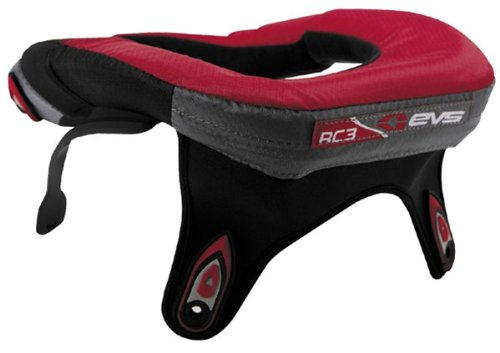 EVS Sports EVS RC2 Race Collar , Color: Red, Size Segment: Adult RC2-RD