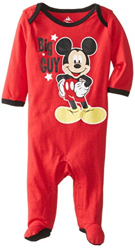 Disney Baby Boys Newborn Mickey Mouse Sleep N' Play, Red, 0-3 Months front-1072946